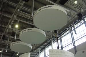 Стенд МЕГАФОН на выставке INNOPROM
