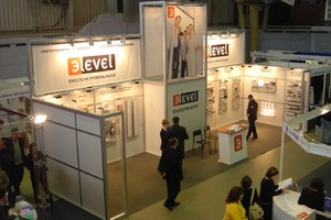 Стенд E-LEVEL на строительной выставке