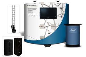 Мобильный выставочный стенд MAXIBIT NETWORK