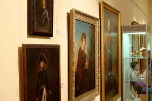 Музей ИЗО. Система подвески картин