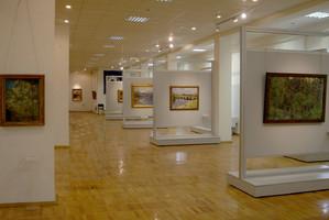 Музей ИЗО. Каркасные мобильные стенды