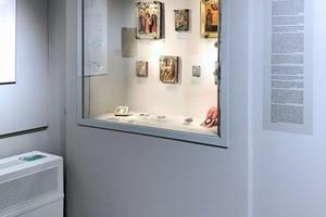 Встроенная витрина. Музей ИЗО. Екатеринбург