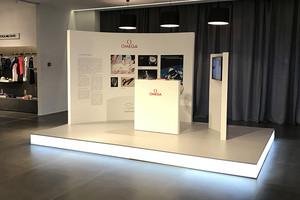 Торгово-выставочный стенд OMEGA