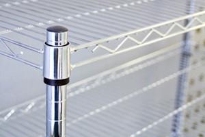 Стеллаж хром 910x450x1800 мм