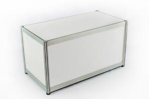 Выставочный подиум-прилавок 1000х500х680 мм