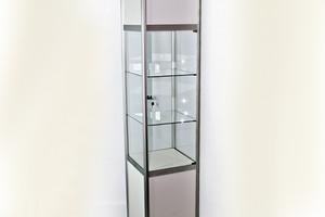 Выставочная витрина 500х500х2500 мм
