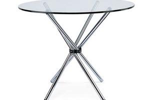 Стол стеклянный D-900 мм в аренду
